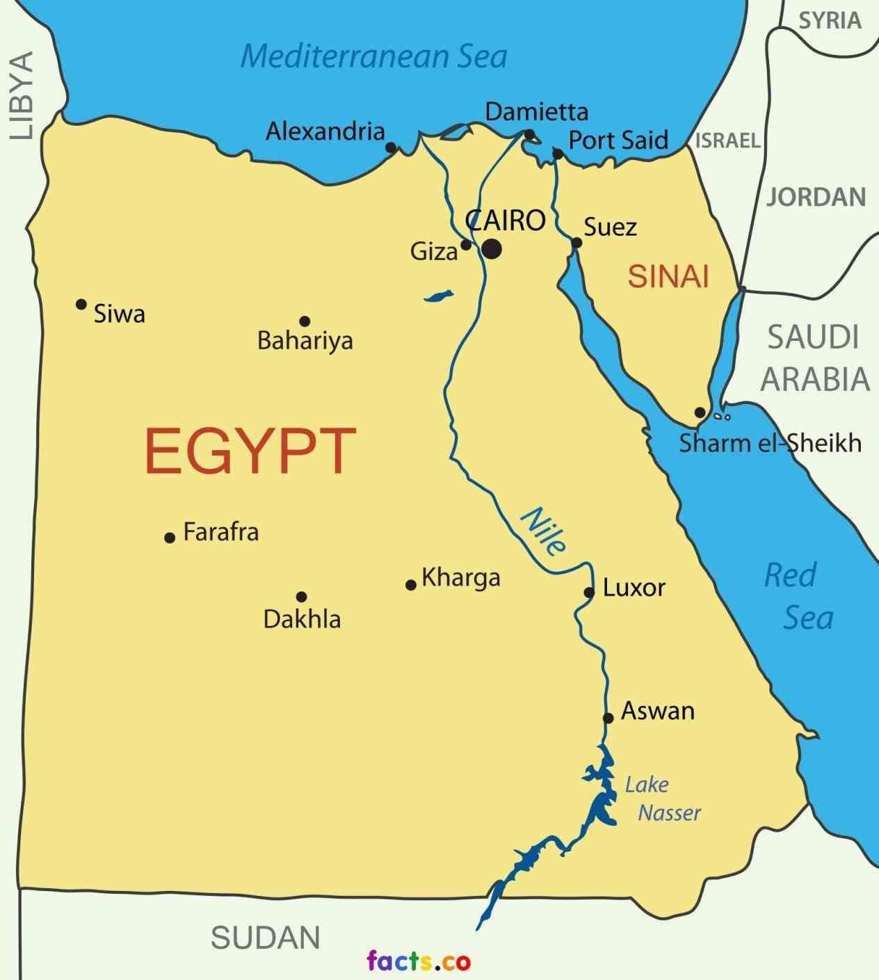 Nile Delta Map From Pinterest 9