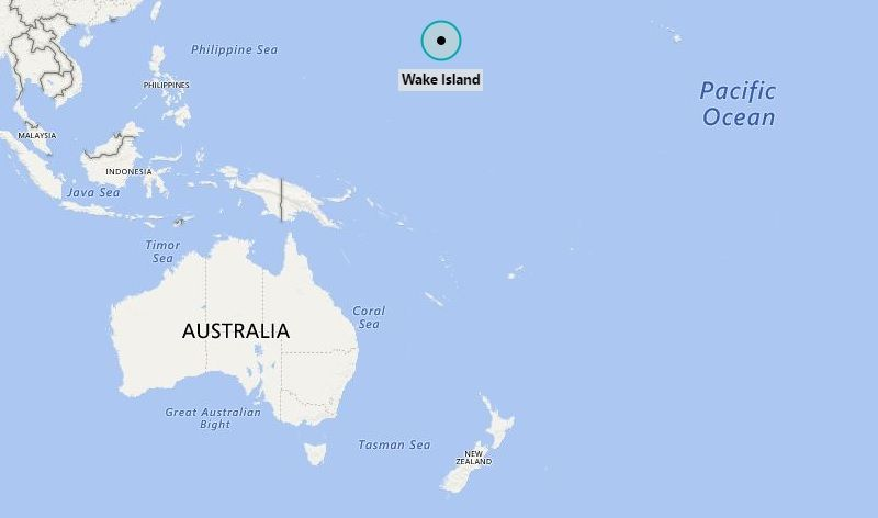 Wake Island On World Map From Pinterest 2