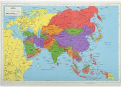 Asia map from amazon 10