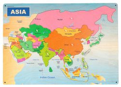 Asia map from amazon 2