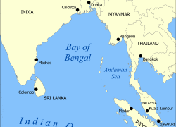 Bay of bengal on world map from en 2