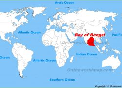 Bay Of Bengal On World Map: Bay of bengal on world map from urbangardeninglimburg 1