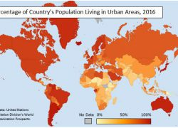 Choropleth map from populationeducation 8