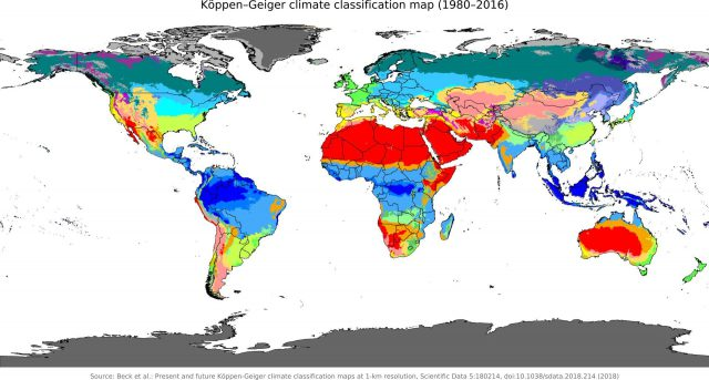 Climate Map