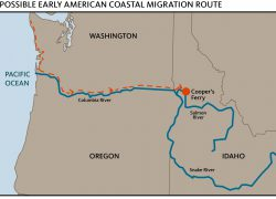 Columbia River Map: Columbia river map from indianz 1