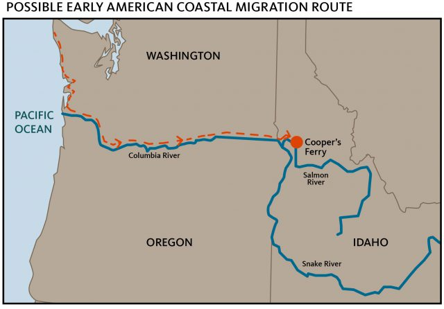 Columbia river map from indianz 1