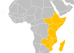 East Africa Map: East africa map from en 1