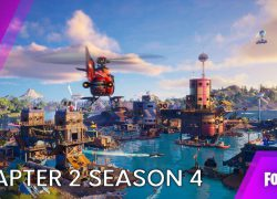 Fortnite chapter 2 season four map from gfinityesports 3