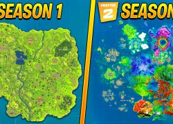 Fortnite Chapter 2 Season Four Map: Fortnite chapter 2 season four map from youtube 1