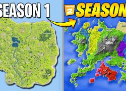 Fortnite chapter 2 season four map from youtube 4