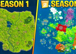 Fortnite chapter 2 season four map from youtube 6