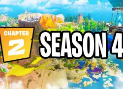 Fortnite chapter 2 season four map from youtube 9