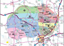 Hill Country Texas Map: Hill country texas map from hill country visitor 1