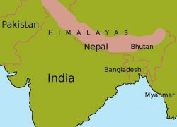 Himalayas map from pinterest 10