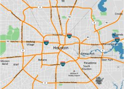Houston map from wpmap 10