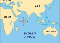 Indian ocean map from researchgate 8