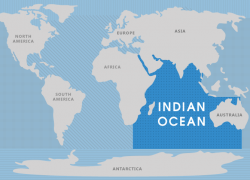 Indian ocean map from whatarethe7continents 9