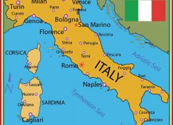 Italy map from pinterest 7