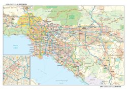Los Angeles California Map: Los angeles california map from mapshop 2