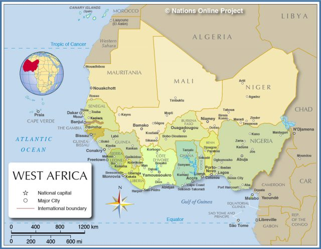 Map Of Ancient Africa
