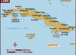 Map of cuba from lonelyplanet 2