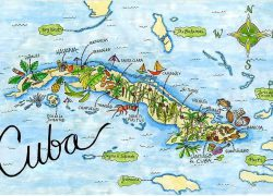 Map of cuba from pinterest 7