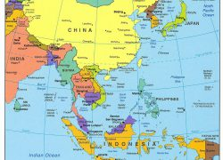 Map Of East Asia: Map of east asia from pinterest 1