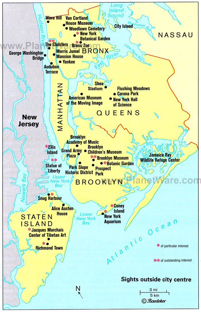 New York City Map From Pinterest 2