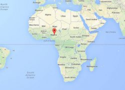 Nigeria on world map from abcnews 8