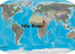 Nile River On World Map: Nile river on world map from pinterest 1