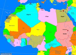 North africa map from alearningfamily 4