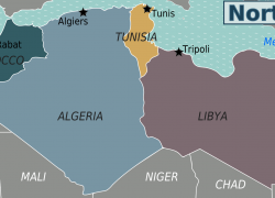 North africa map from en 8
