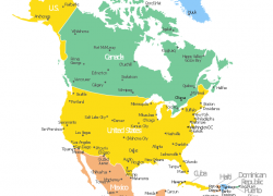 North And South America Map: North and south america map from pinterest 1