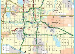 Oklahoma state map from travelok 7