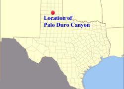 Palo Duro Canyon On Texas Map: Palo duro canyon on texas map from pinterest 1