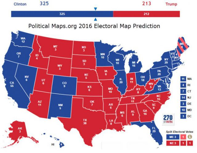 Political Map Of Usa