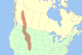 Rocky Mountains Map