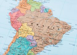 South america map from britannica 10