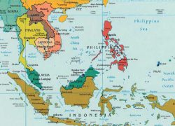 South Asia Map: South asia map from asiasociety 1