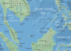 South china sea map from nationsonline 3