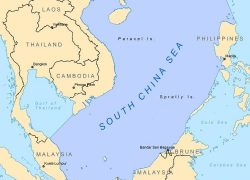 South china sea map from researchgate 5