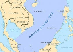 South china sea map from researchgate 8
