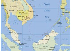South China Sea On World Map: South china sea on world map from nationsonline 1
