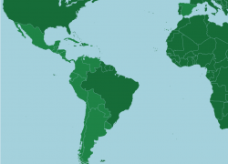 Spanish Speaking Countries Map: Spanish speaking countries map from online 1