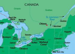 St Lawrence River On Us Map: St lawrence river on us map from pinterest 1