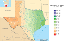 Texas Climate Map