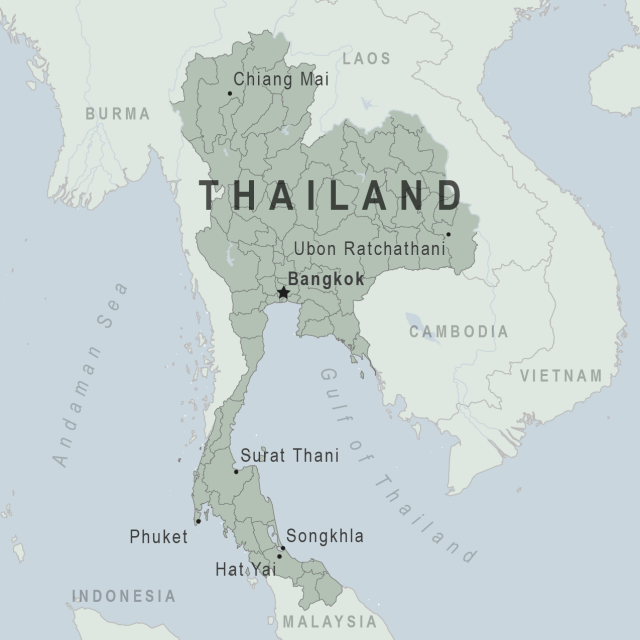Thailand map from wwwnc 1