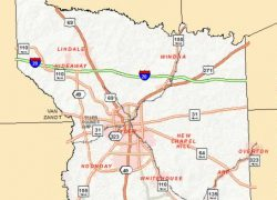 Tyler Texas Map: Tyler texas map from tylertexasonline 1