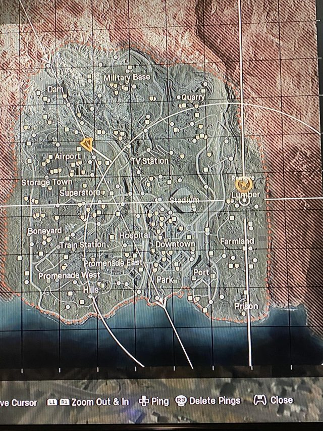 Warzone Map