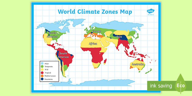 World Climate Map